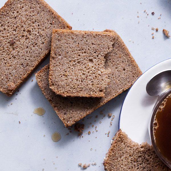 pão miolo aveia e trigo sarraceno