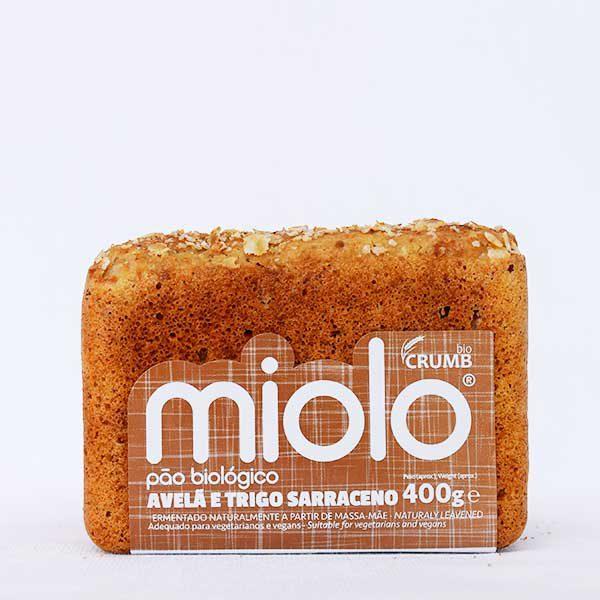 pão miolo avelã e trigo sarraceno