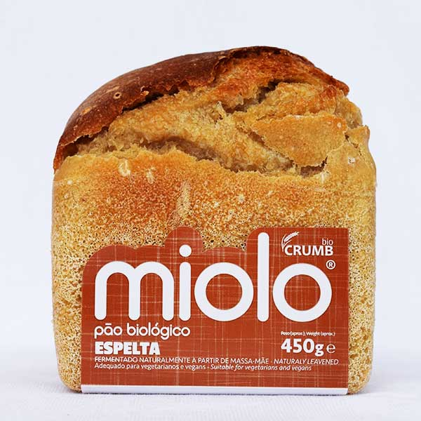 pão miolo espelta