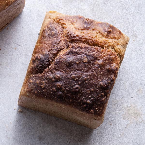 pão miolo espelta e centeio integral