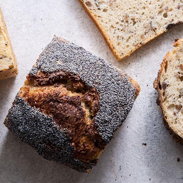 pão miolo kamut